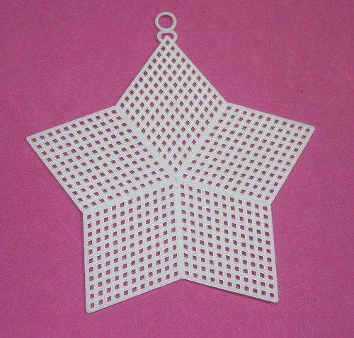Plastic canvas shape-5 Star