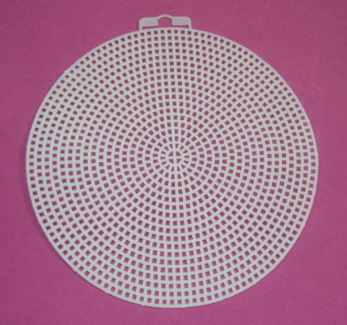 Plastic canvas shape-5 Circle